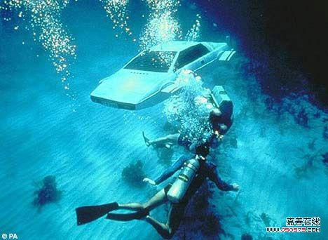 瑞士打造世界首辆潜水跑车