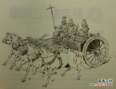秦朝时候的中国地图