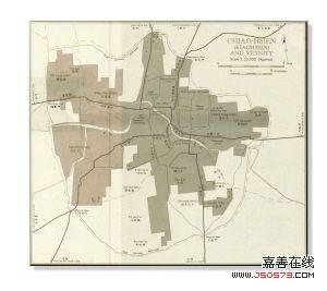 网上出现清末胶州地图 疑德国侵占青岛时所制