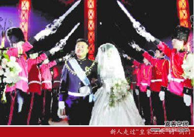 新娘喜欢古典欧式风格的婚礼