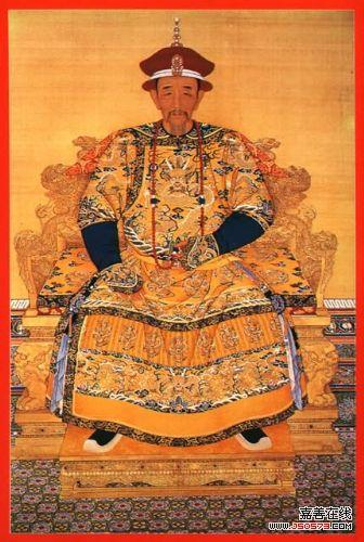康熙皇帝画像