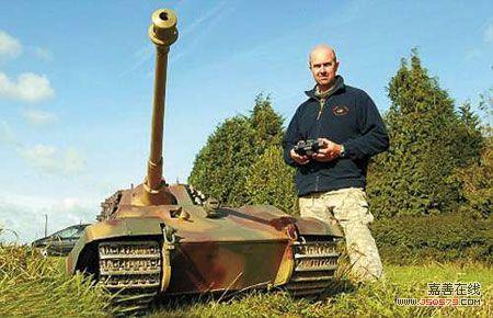 斤遥控玩具坦克(图)
