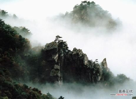 庐山风景图片(春天