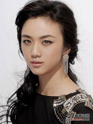 汤唯古典唯美女人发型