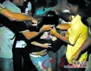 少女遭猥亵视频截图