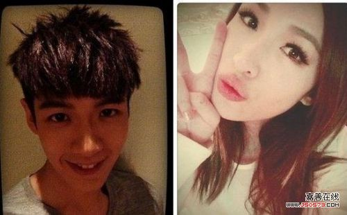 网友发布了柯震东在上海会见程颖婕的照片
