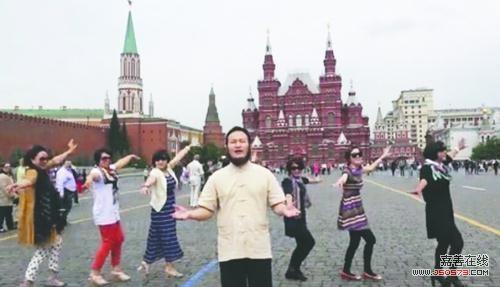 也使尚在俄罗斯圣彼得堡旅游的