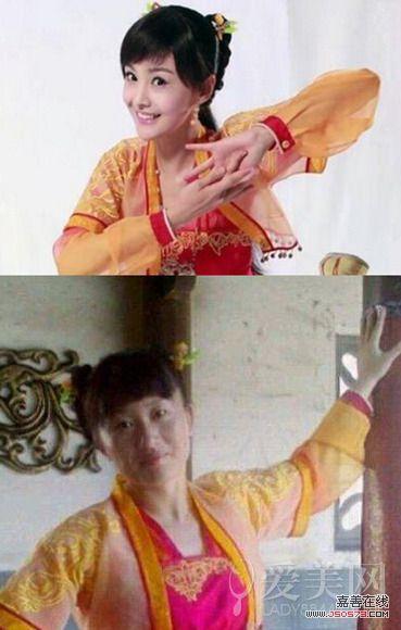 杨幂郑爽刘诗诗 明星与替身傻傻分不清