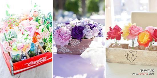 (内容来源:爱结网)       婚礼素材木质花盒之外包装设计   婚礼素材