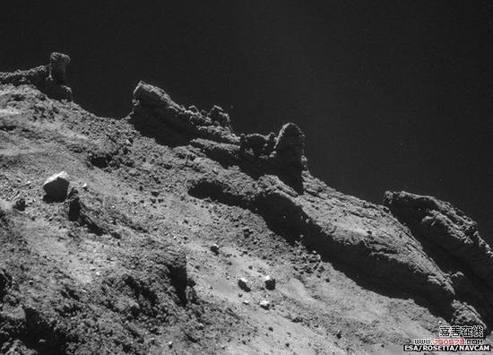 彗星组成结构图