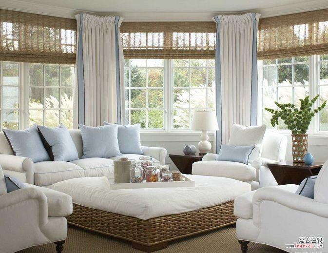 客厅窗帘装修8个实用案例介绍