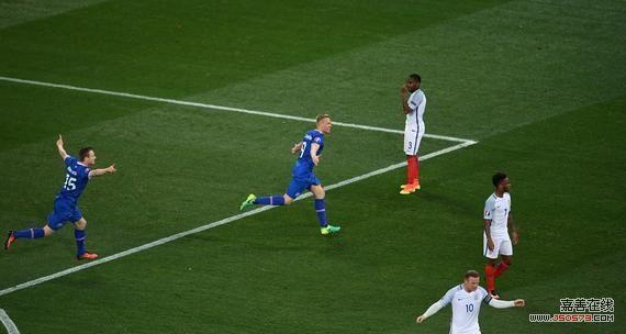 英格兰1-2负冰岛
