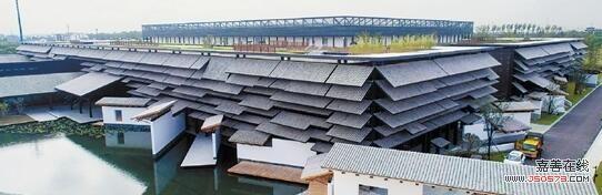 竹片手工制作房子