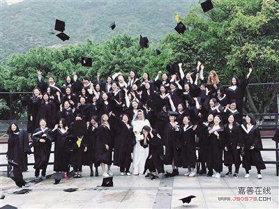 重庆文理学院2013级旅游对口班毕业照