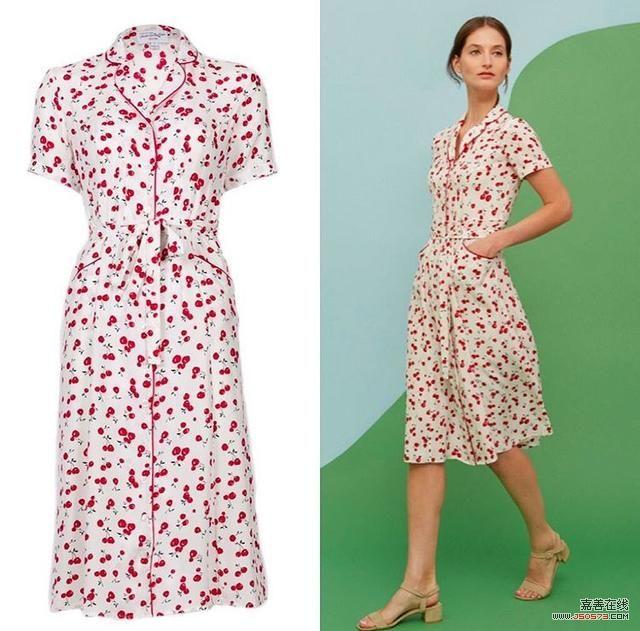 夏天到了,用这条碎花裙装点你的衣橱吧