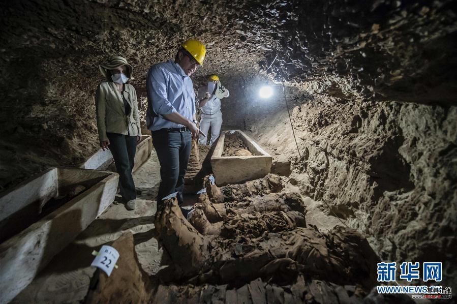 埃及出土木乃伊 尸体死亡形态甚是恐怖