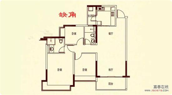 """长方形或正方形的房子符合""""天圆地方"""",""""八方合满""""的传统观念,如果房屋"""