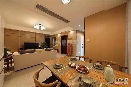 禅意稳重的新中式木质餐桌,搭配木质感十足的空间格局,在高档餐厅